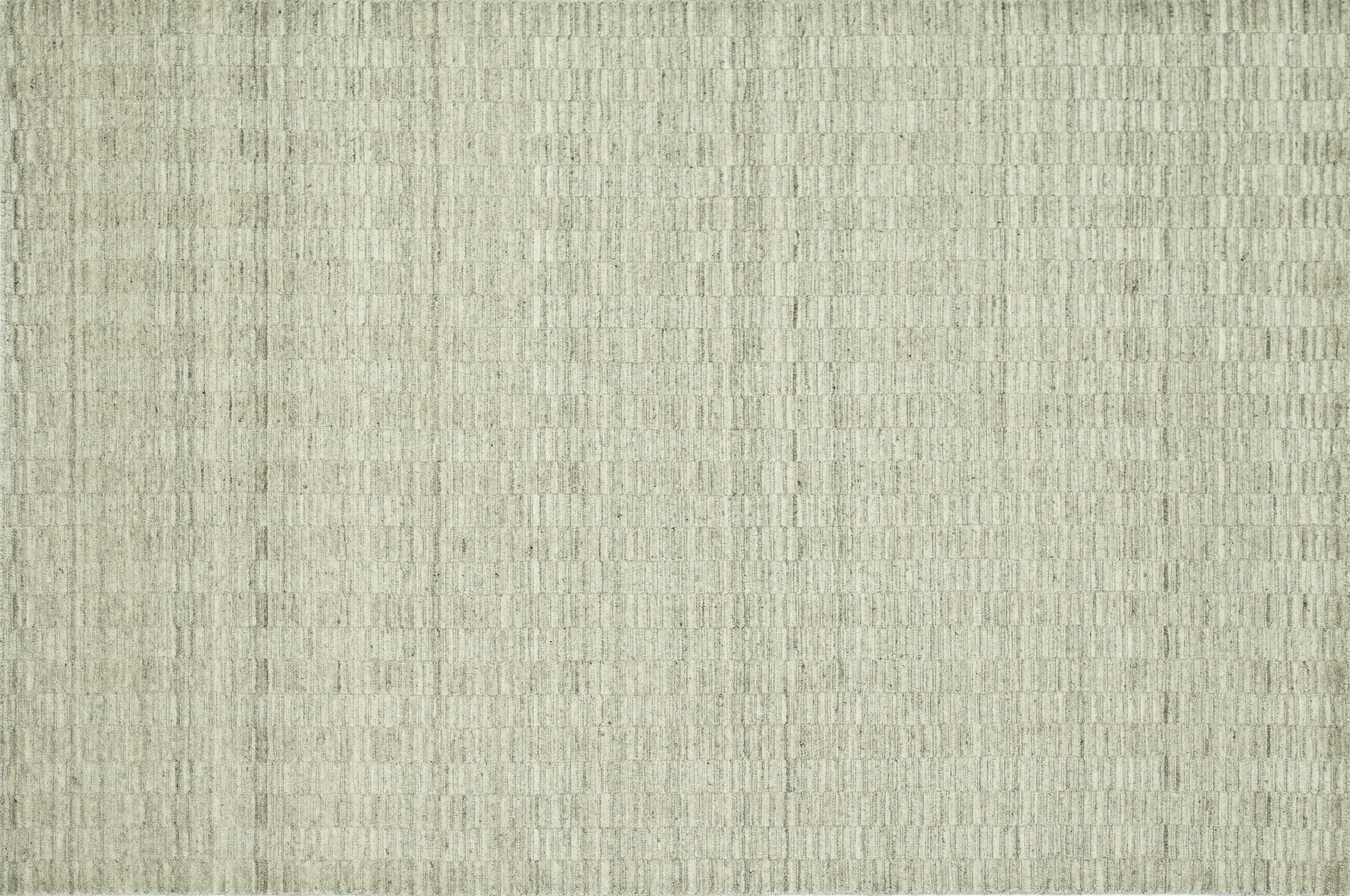 Nordgran Oatmeal White Solid Area Rug Rug Size: Rectangle 9'3