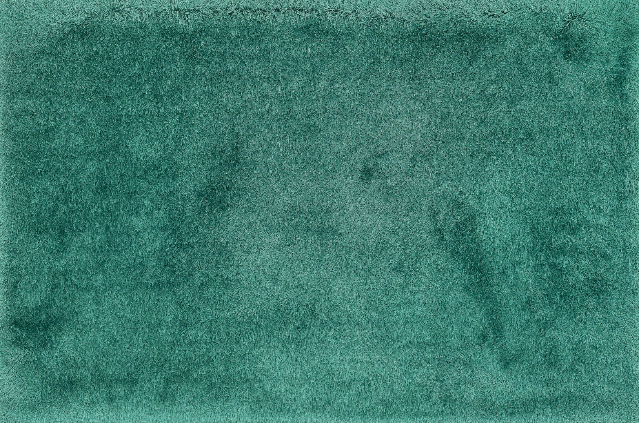 Hersi Hand-Tufted Emerald Area Rug Rug Size: Rectangle 5' x 7'6