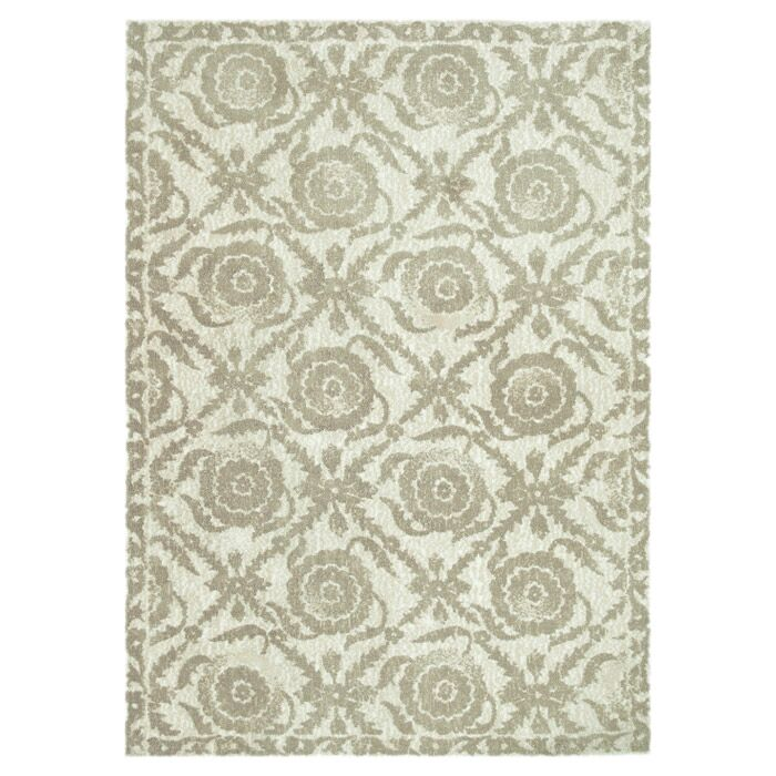 Keiper Beige Area Rug Rug Size: Rectangle 7'6