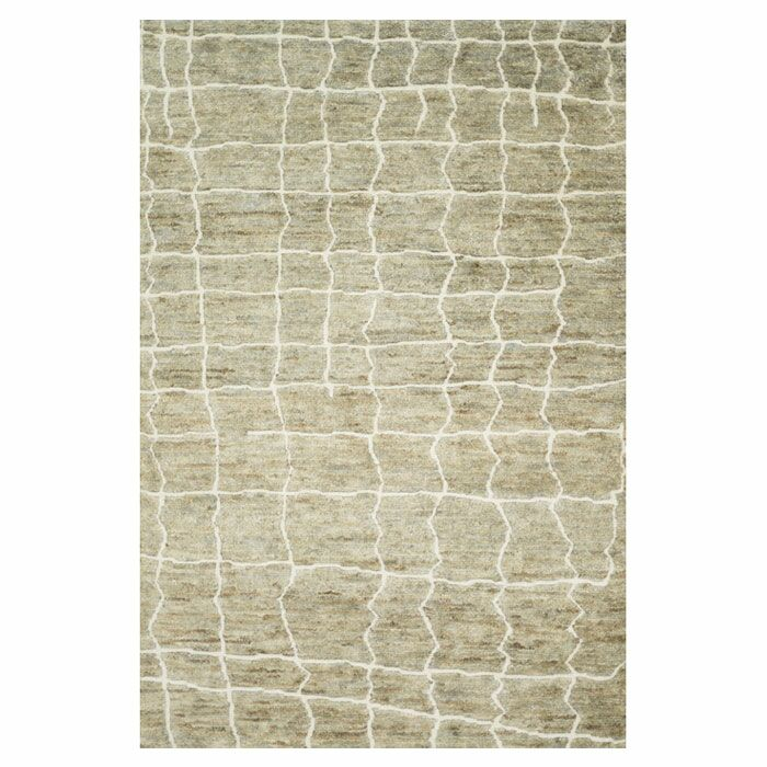 Palumbo Hand-Knotted Birch Area Rug Rug Size: Rectangle 9'6