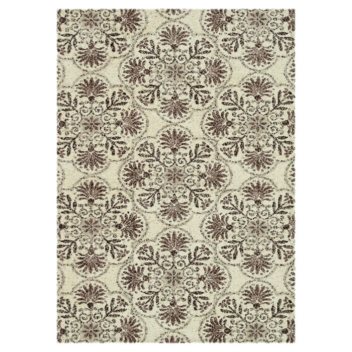Keiper Brown/Gray Area Rug Rug Size: Rectangle 3'6
