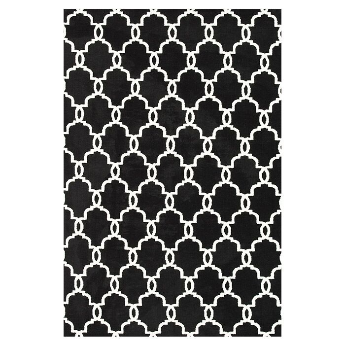 Dane Onyx Area Rug Rug Size: Rectangle 9'3