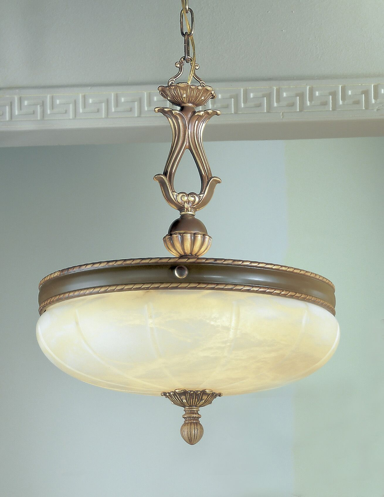 Alexandria I 5-Light Bowl Pendant Crystal Type: Without Crystal, Finish: Victorian Bronze