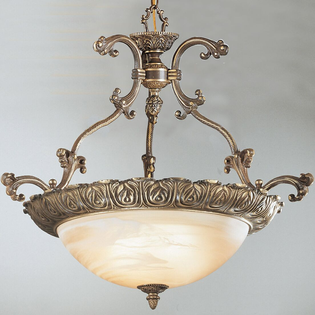 Montego Bay 4-Light Bowl Pendant Finish: Roman Bronze