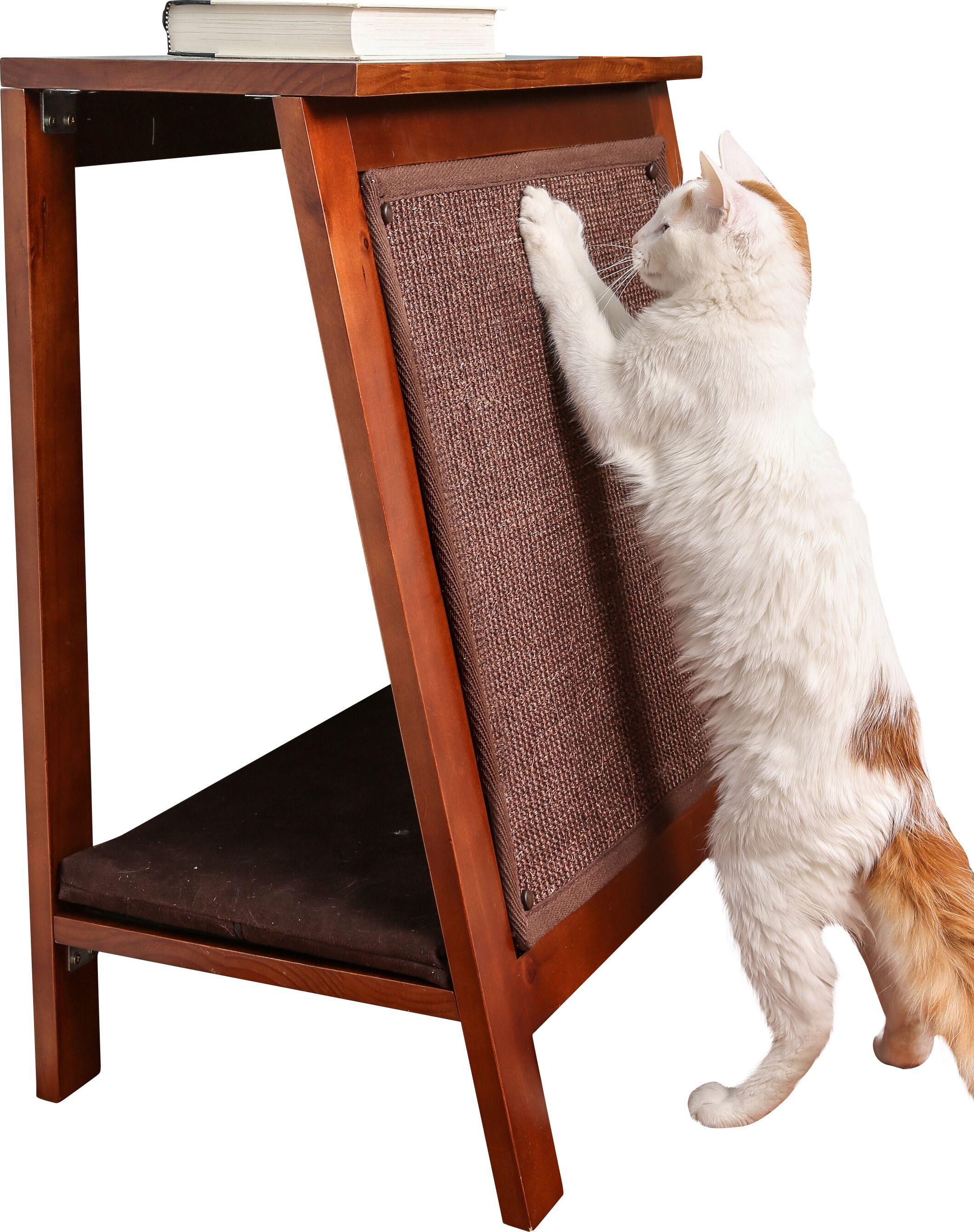 Hanover A-Frame Cat Bed Color: Mahogany