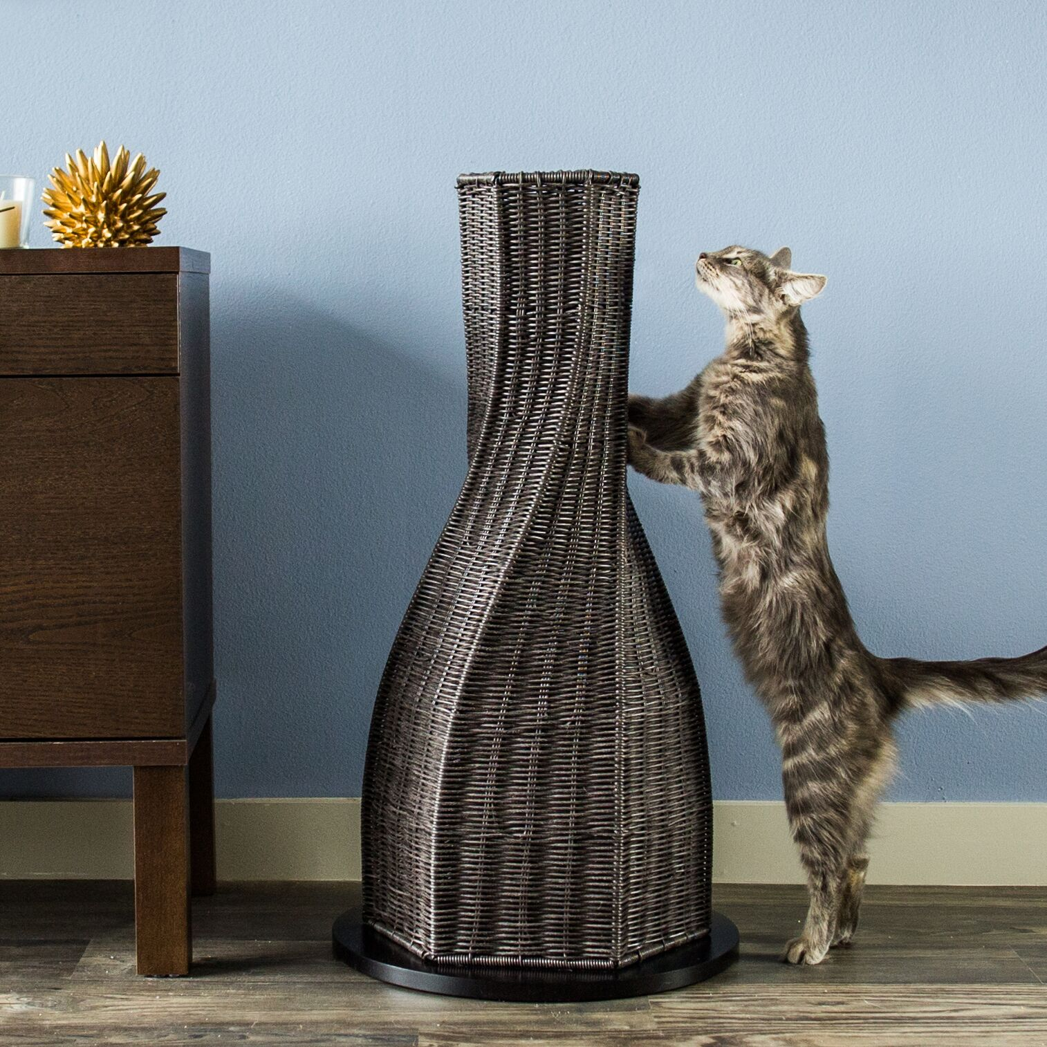 Colonel Cat Scratching Post Color: Espresso