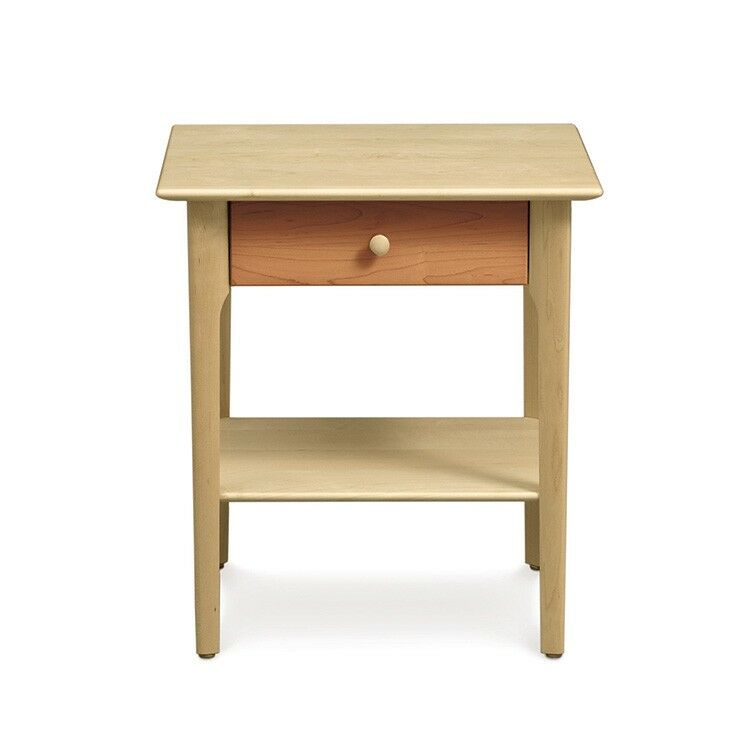 Sarah 1 Drawer Nightstand Color: Natural Cherry, Height: 28