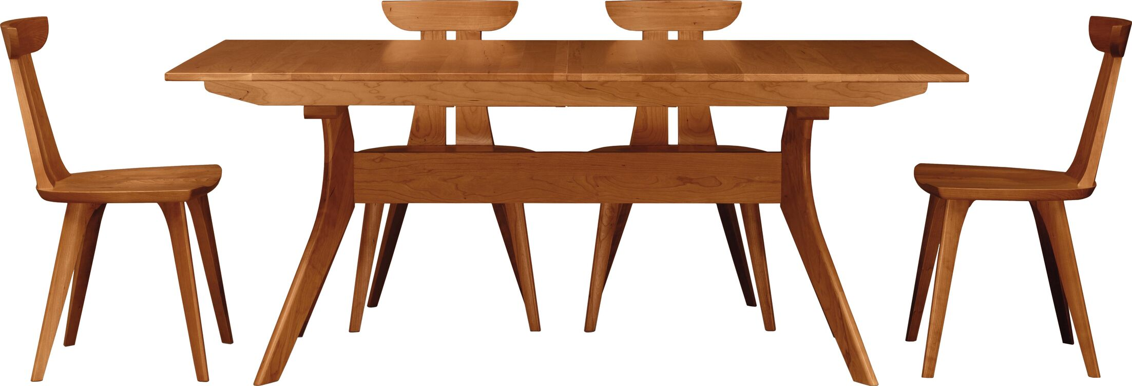 Audrey Extendable Dining Table Finish: Cognac Cherry, Size: 30