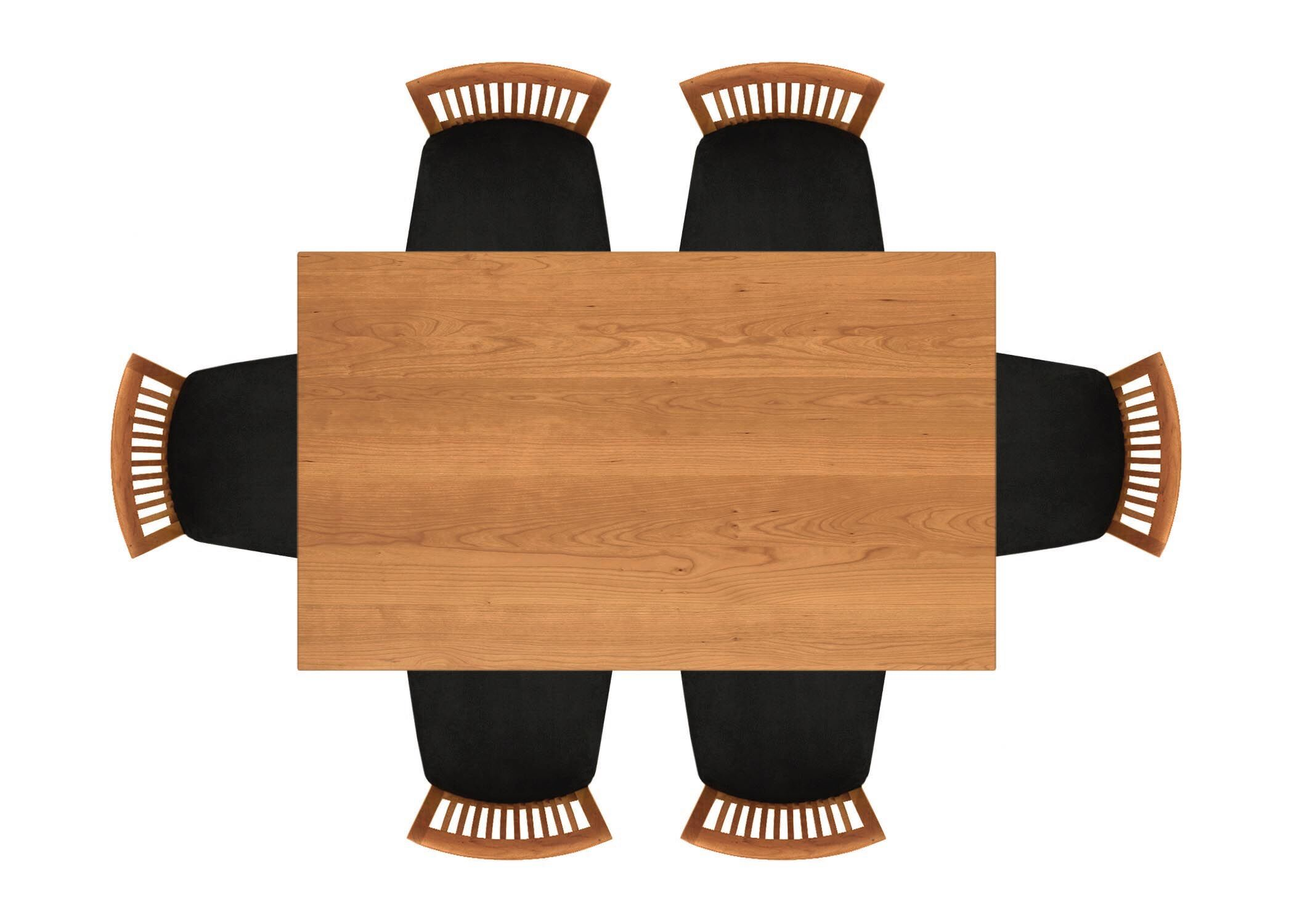 Sarah Dining Table Color: Natural Cherry, Size: 30