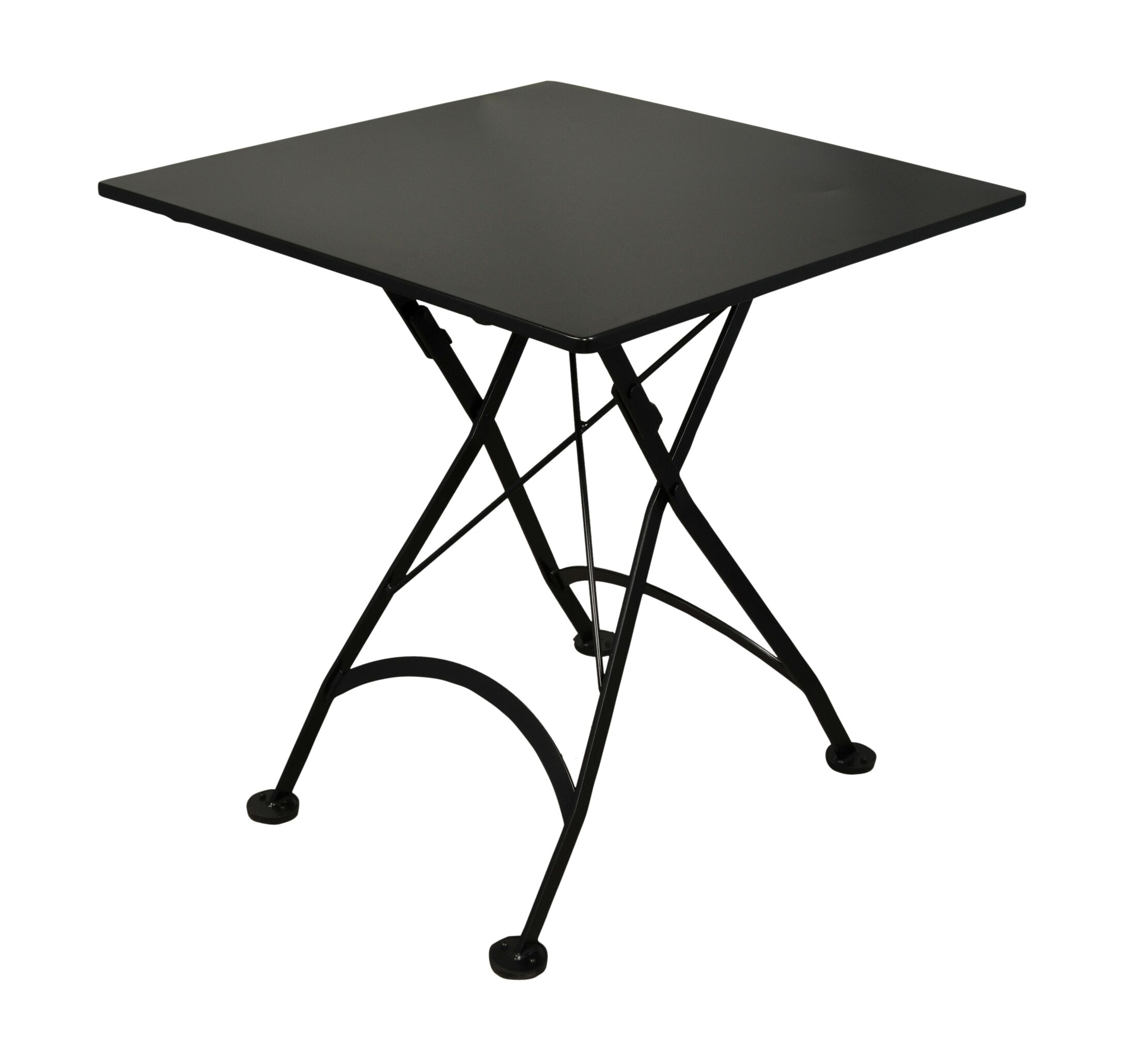 European Caf� Folding Bistro Table Table Size: 28
