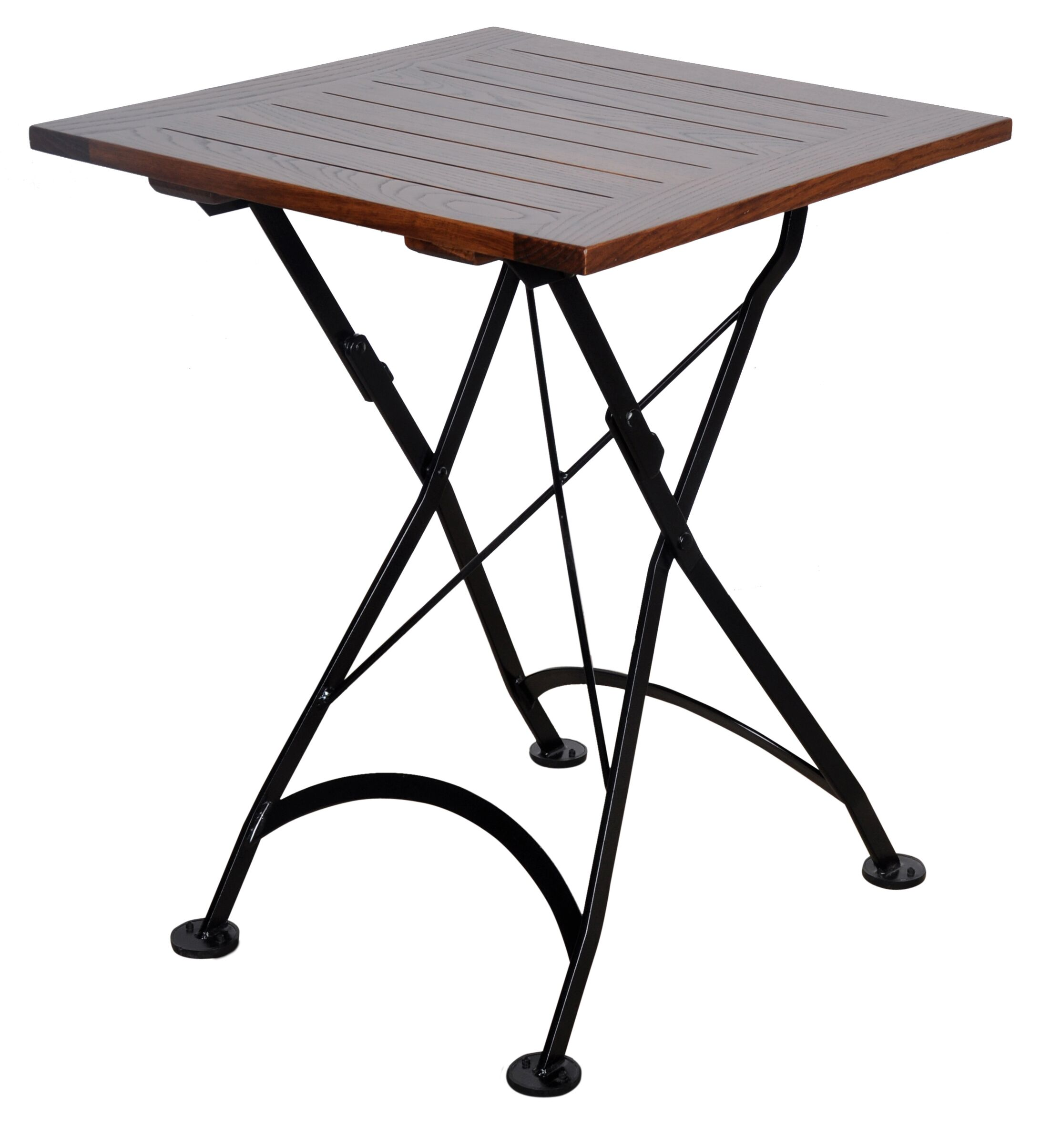 European Caf� Folding Bistro Table Table Size: 24