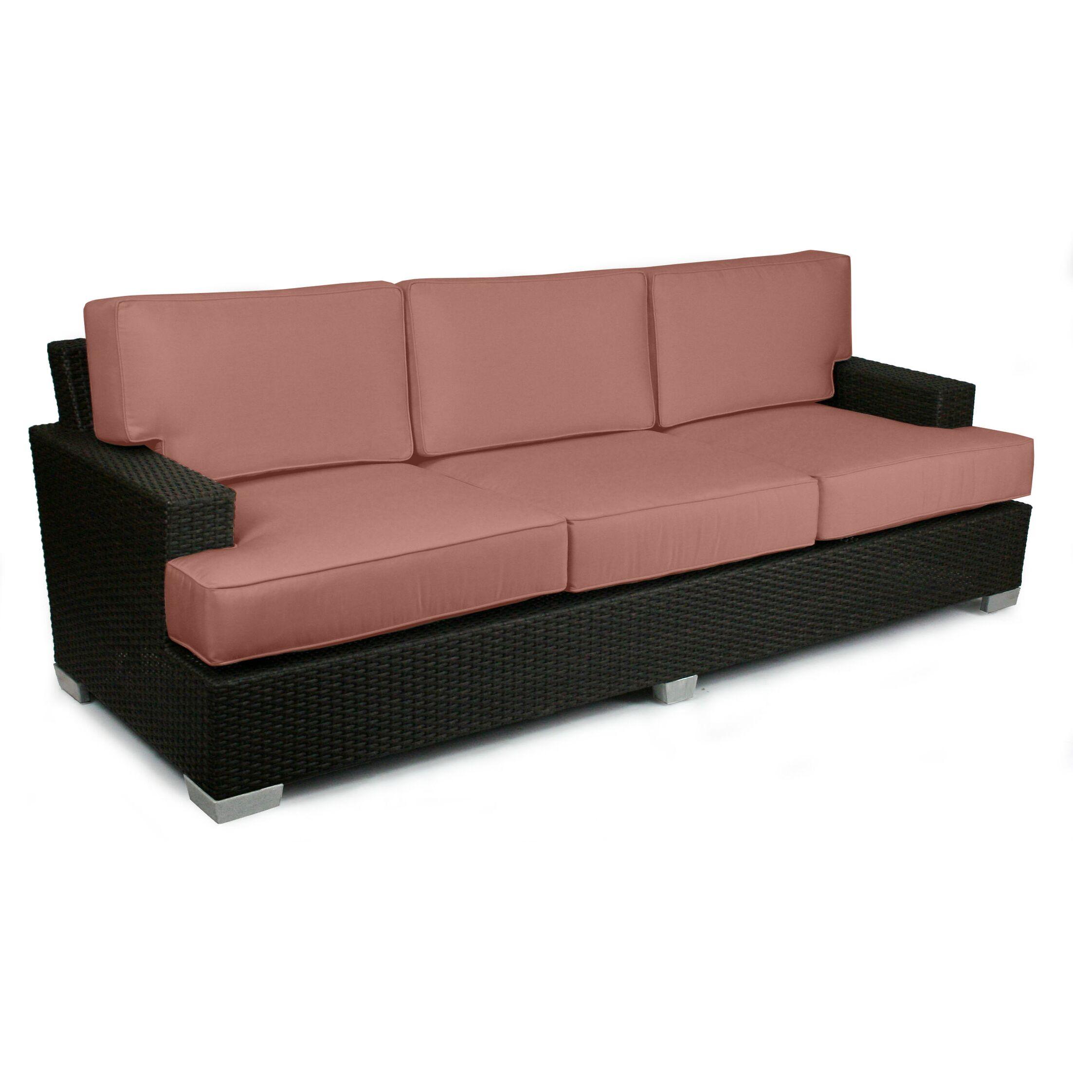 Signature Sofa with Cushions Fabric: Grenadine