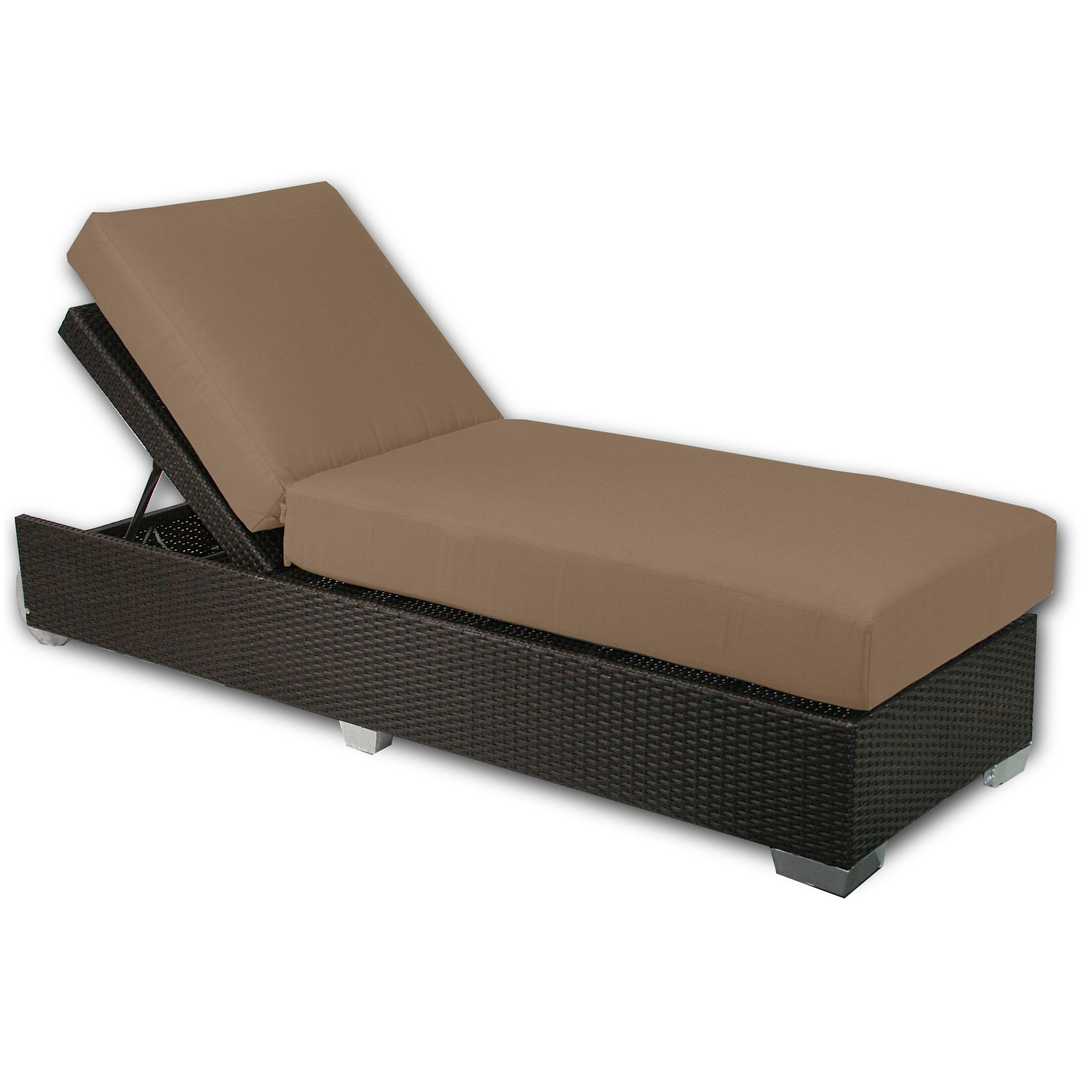 Signature Chaise Lounge Fabric Color: Sierra