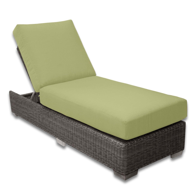 Palisades Chaise Lounge Fabric Color: Kiwi