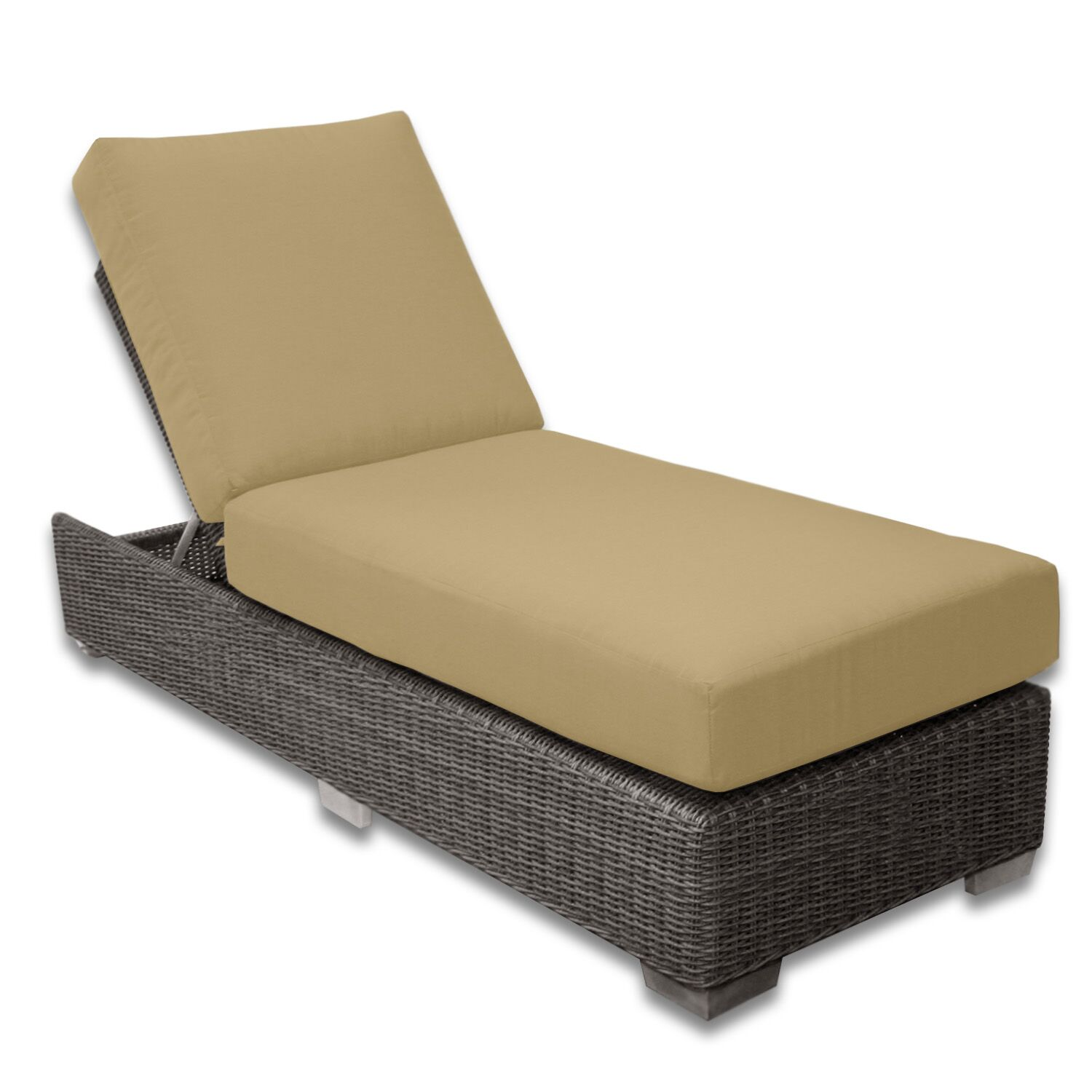 Palisades Chaise Lounge Fabric Color: Dijon