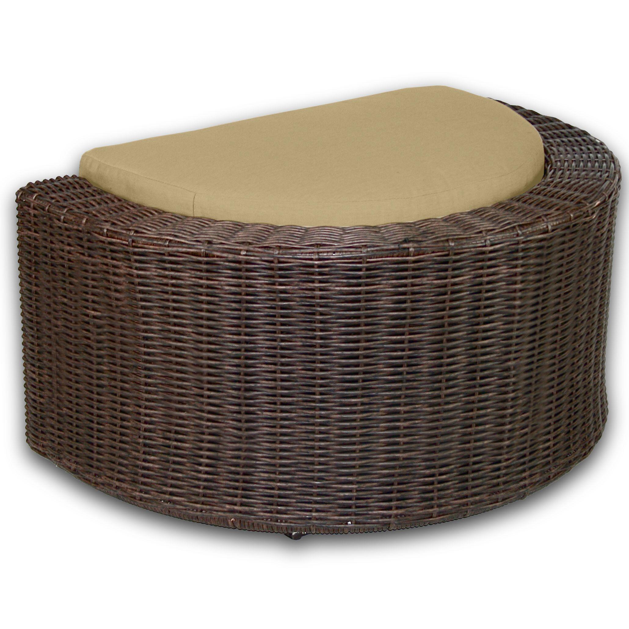 Palomar Ottoman with Cushion Fabric: Dijon