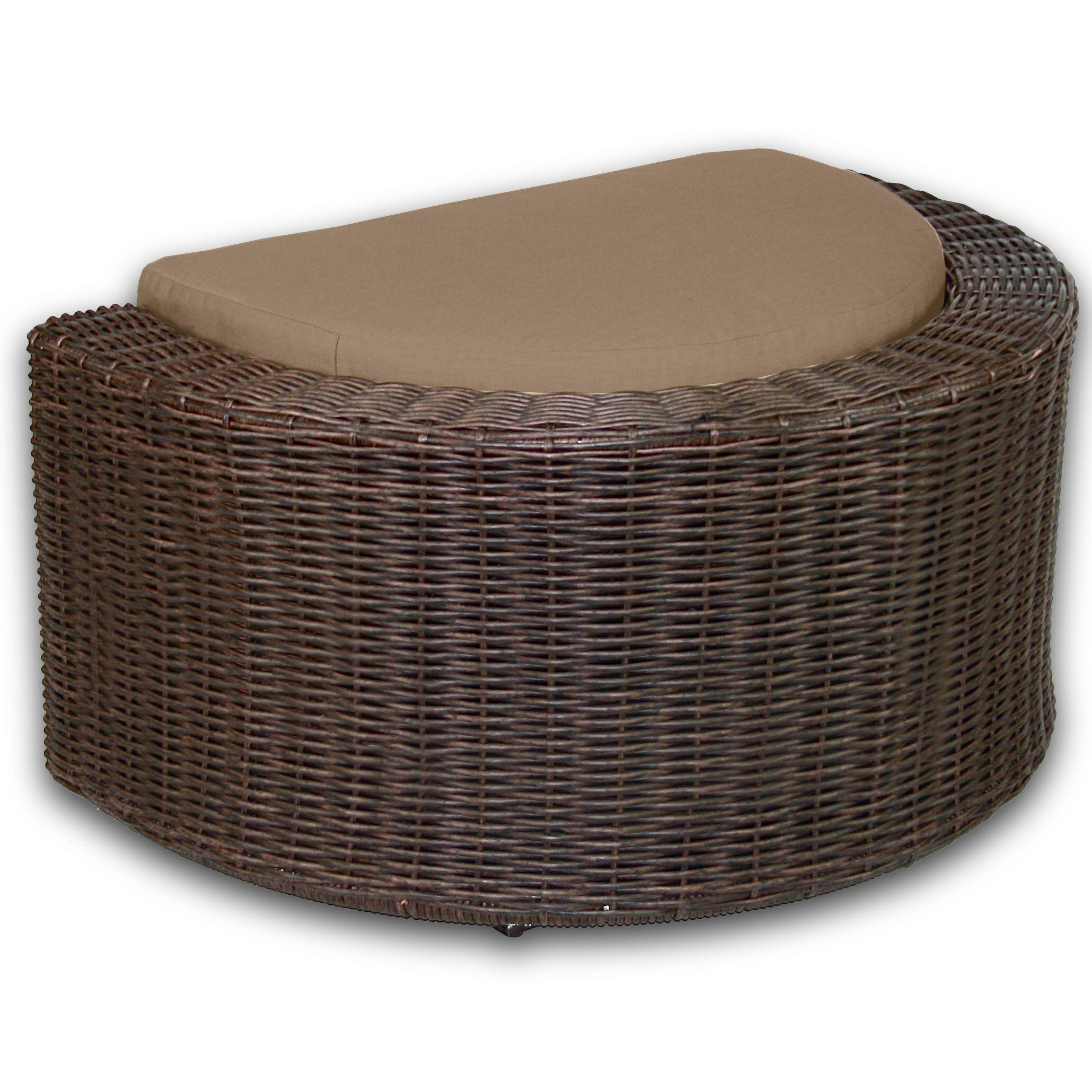 Palomar Ottoman with Cushion Fabric: Sierra