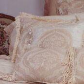Euphoria Brush Fringe Throw Pillow