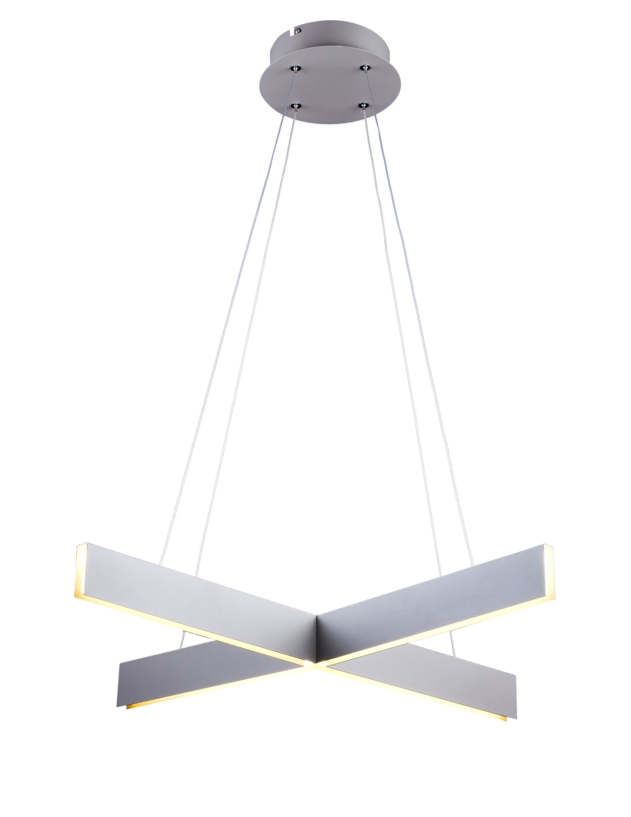 Sirabella Geometric Chandelier Finish: Light Gray