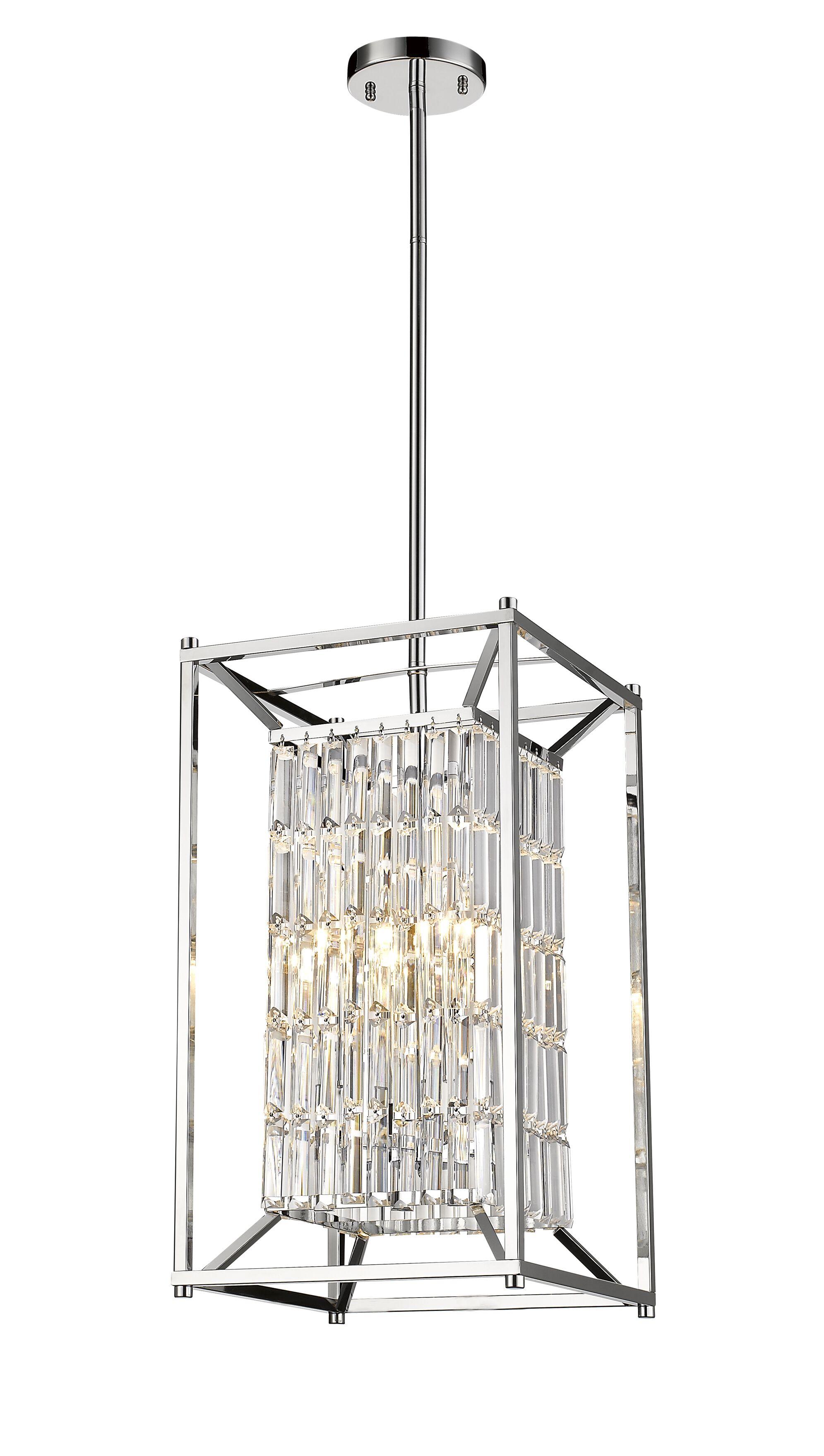 Bourdages 4-Light Square/Rectangle Pendant