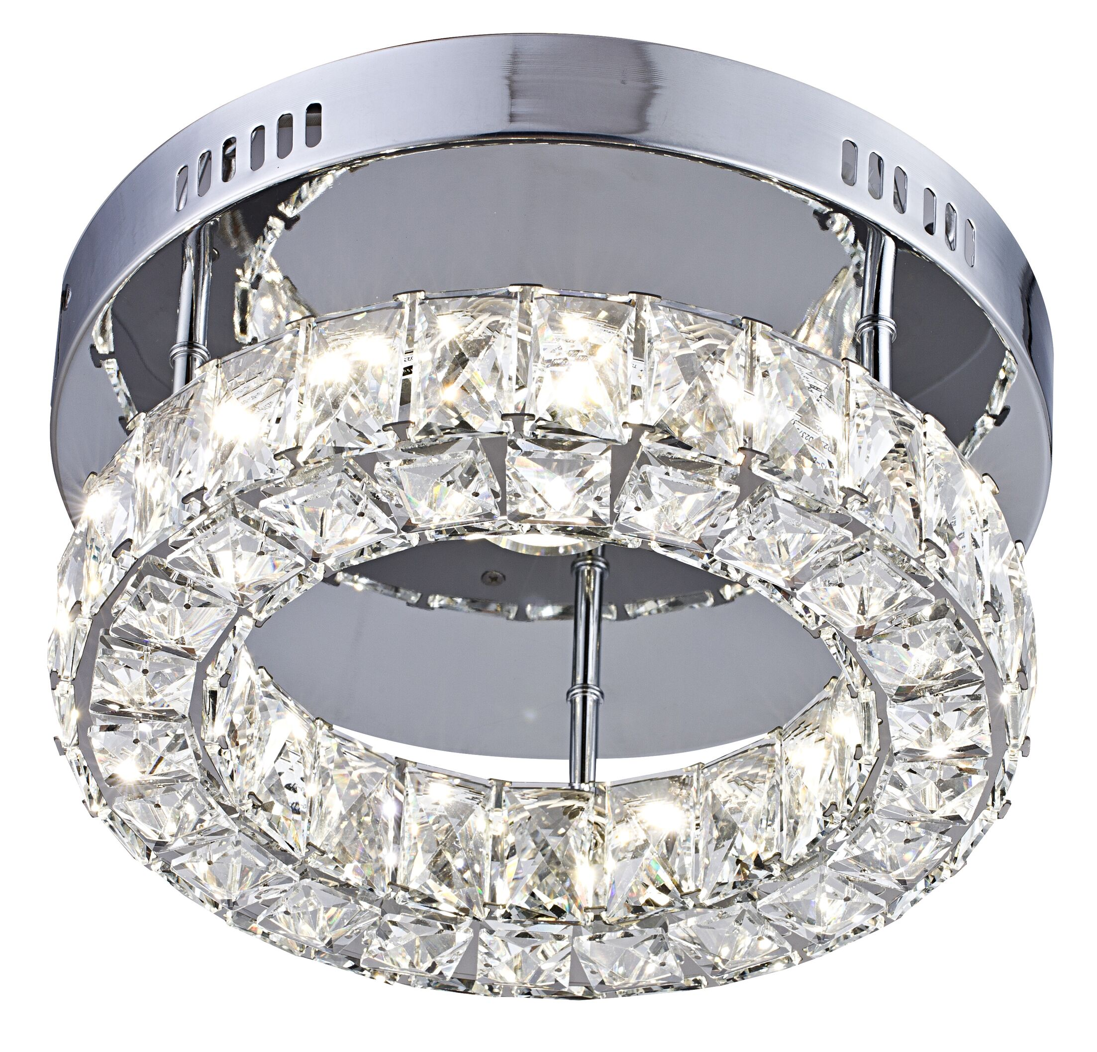 Venita 1-Light LED Flush Mount