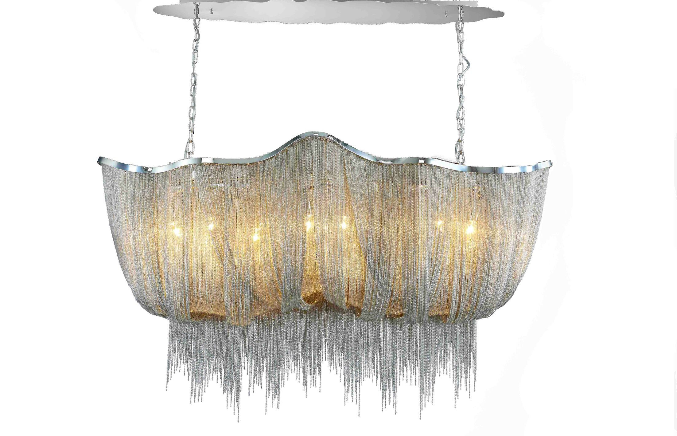 Loar 8-Light Kitchen Island Pendant