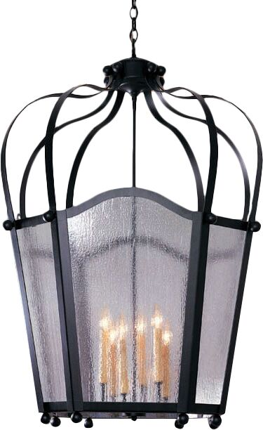 Citadel 6-Light Pendant Finish: Gilded Tobacco, Acrylic: Clear Acrylic