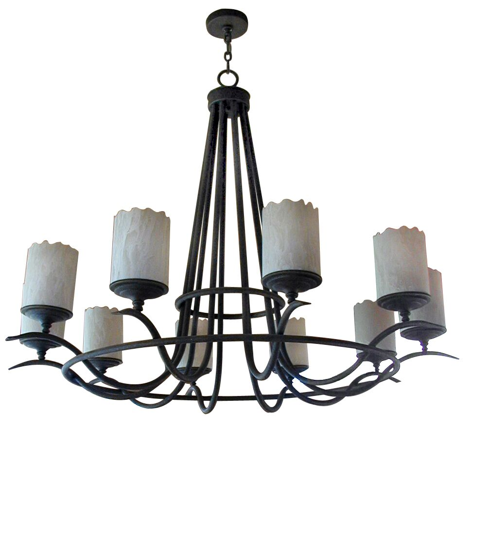 Octavia 10-Light Shaded Chandelier Finish: Cortez Gold
