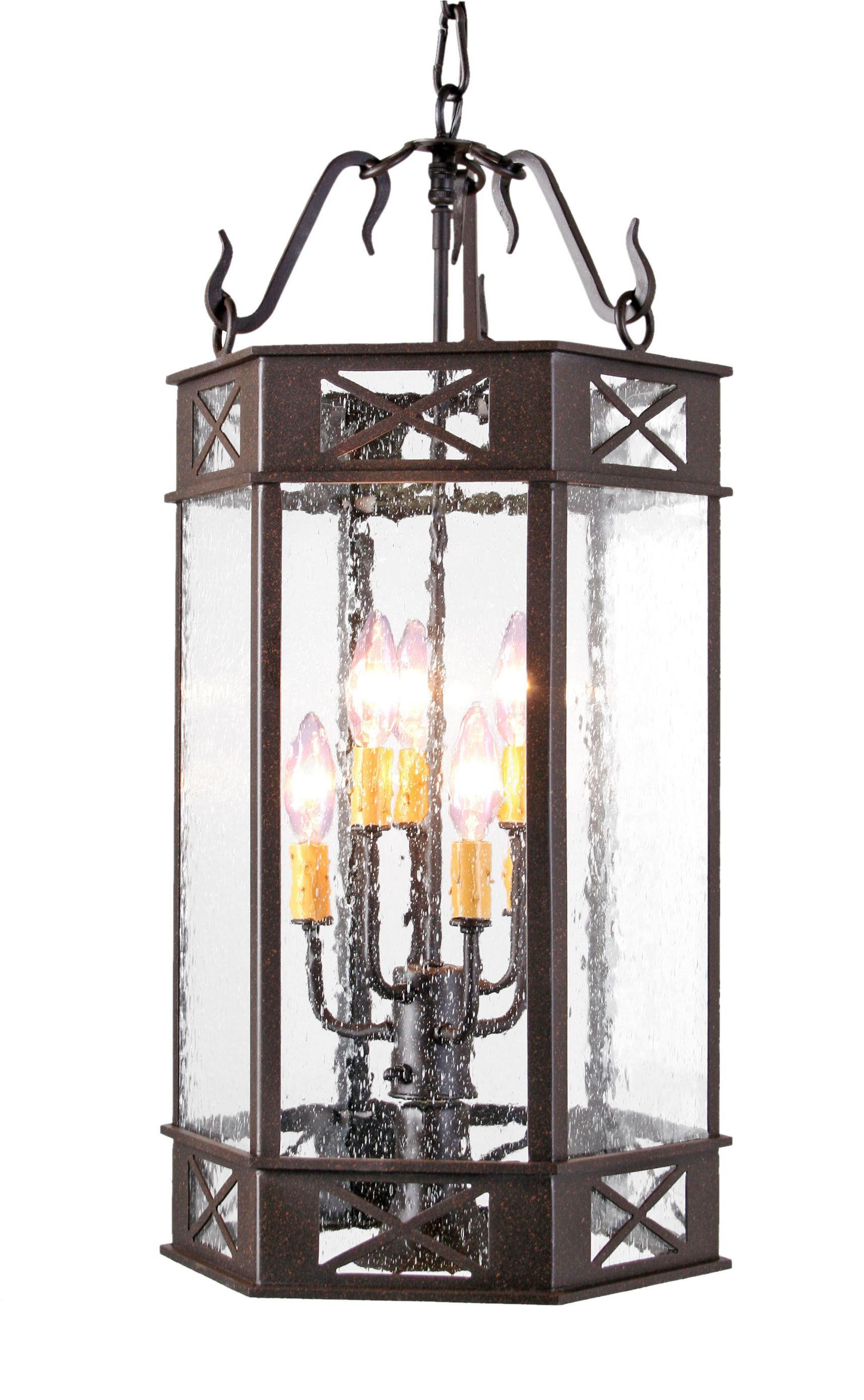 Gina 7-Light Pendant Finish: Coffee Bean