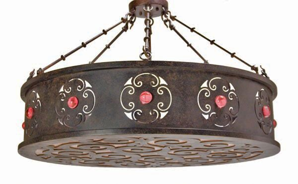 Julianne 6-Light Pendant Finish: Copper Rust Premium