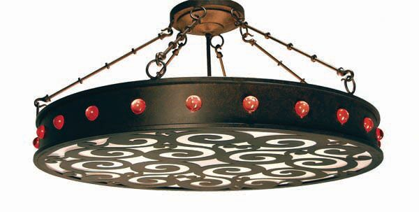 Jules 16-Light Pendant Finish: Blackwash