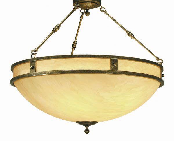 Capella 6-Light Bowl Pendant Finish: Gilded Tobacco