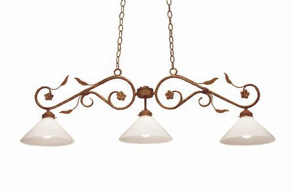 Bordeaux 3-Light Pendant Finish: Rusty Nail