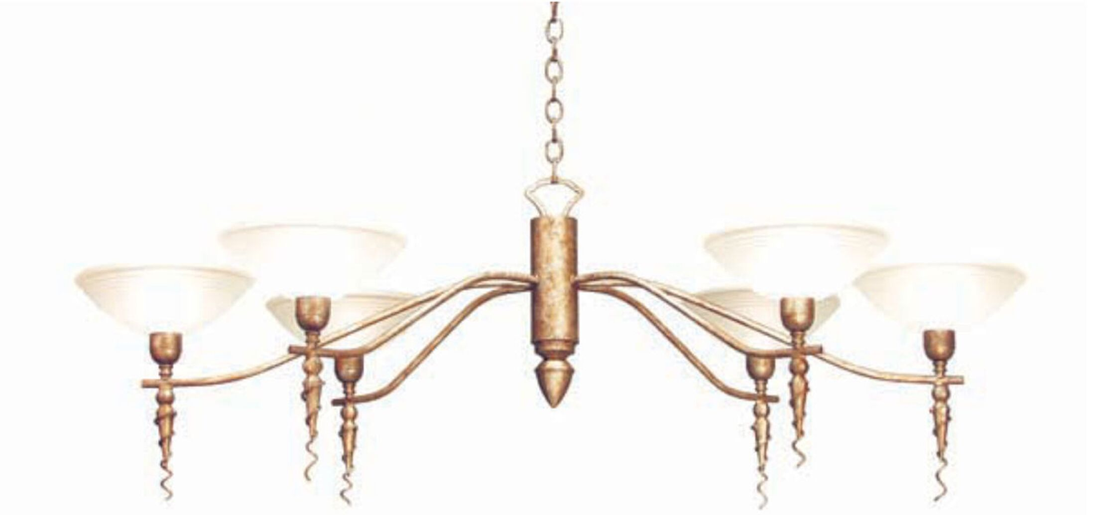 Blanca 6-Light Shaded Chandelier Finish: Cameo Premium