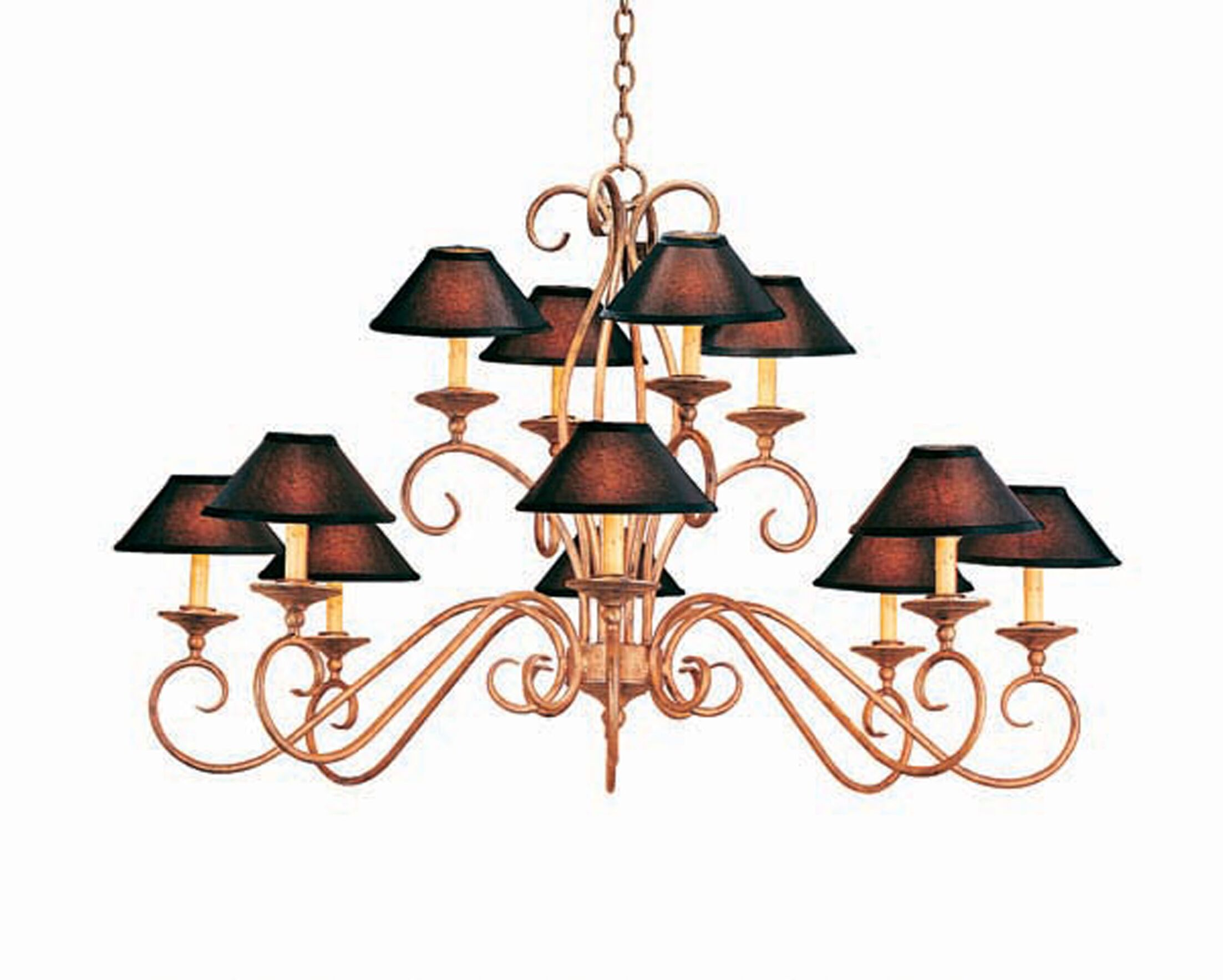 Quinton 12-Light Shaded Chandelier