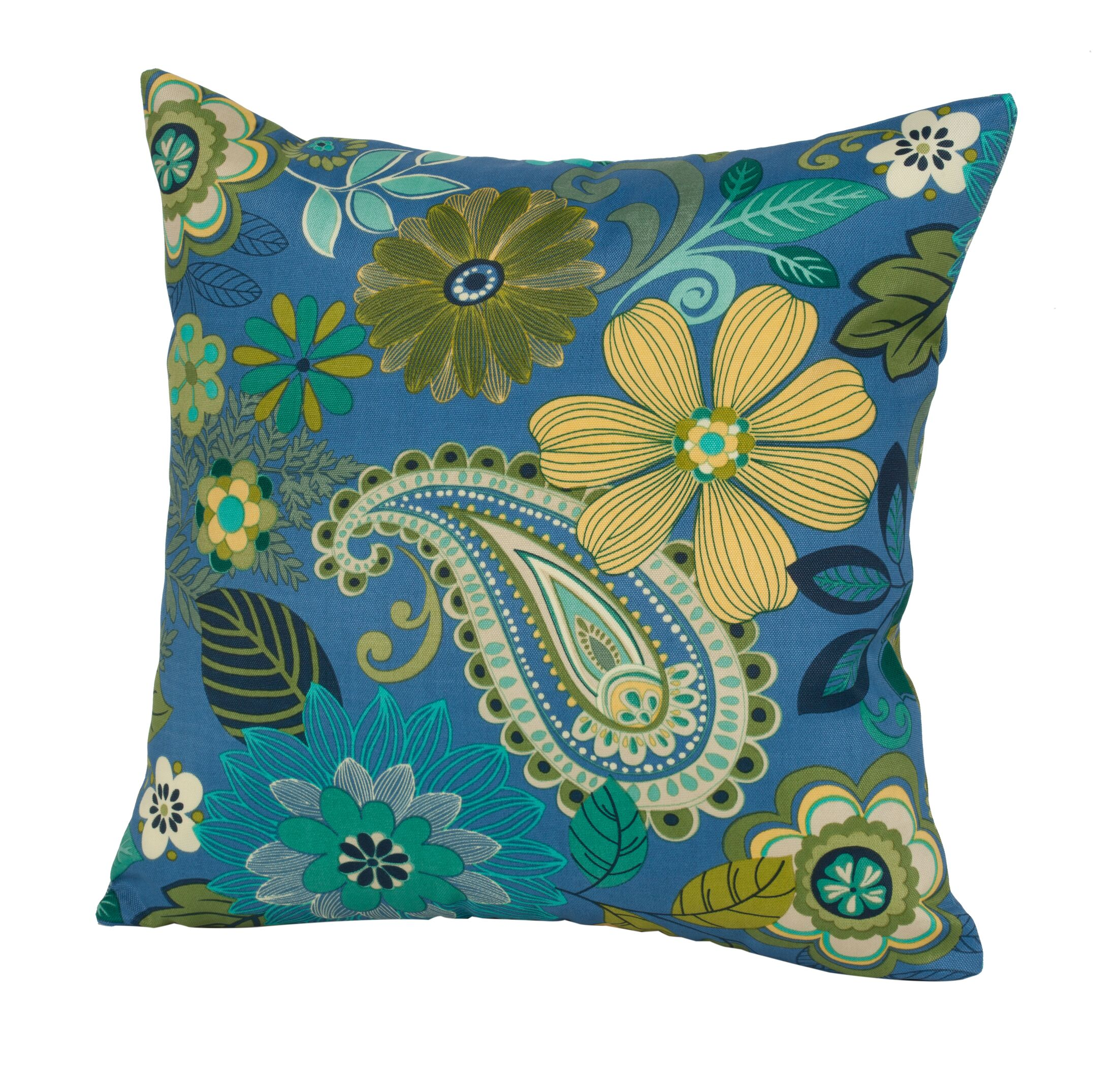 Gaya Outdoor/Indoor Throw Pillow Size: 24