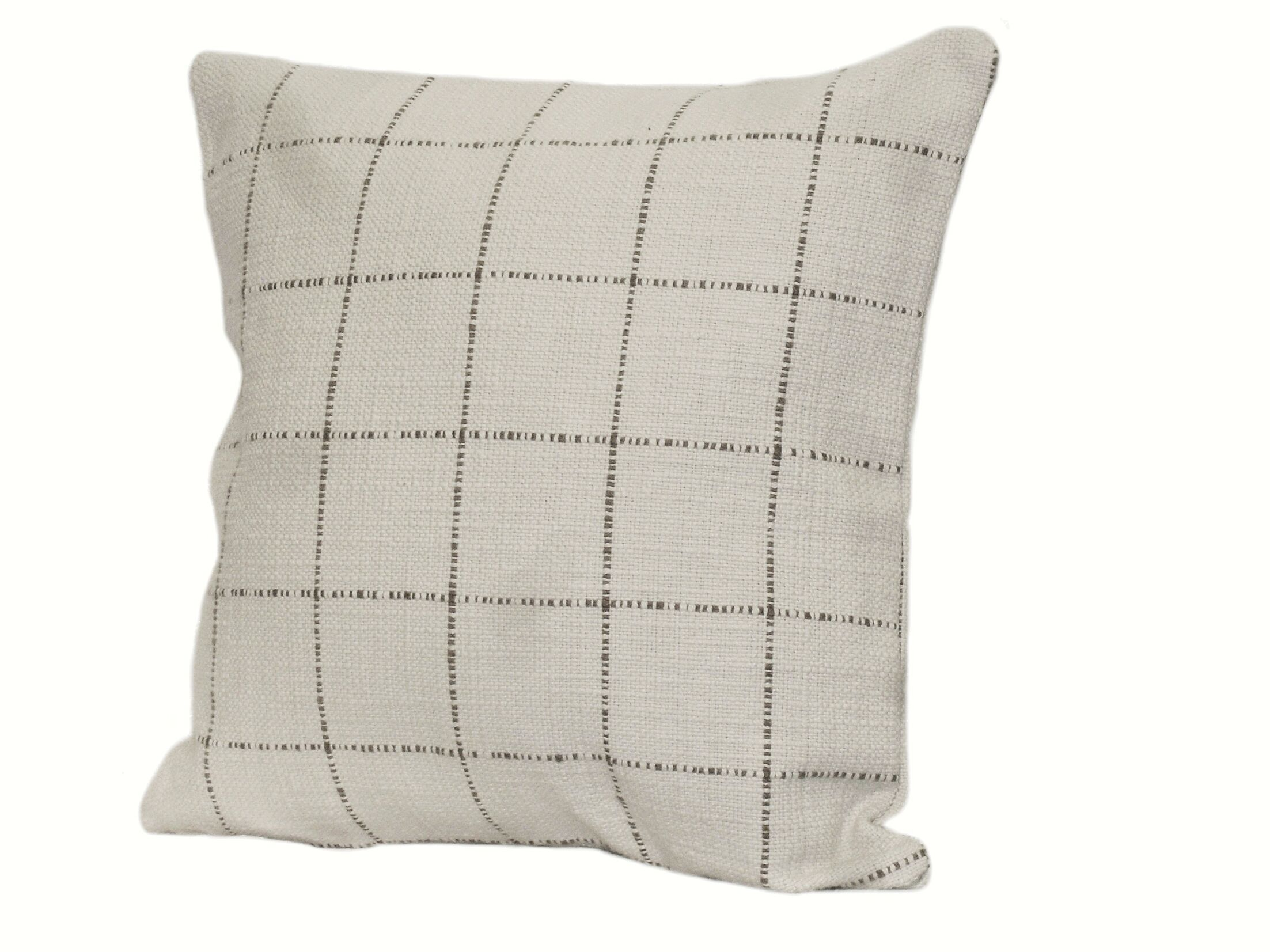 Highlander Plaid Throw Pillow Size: 18