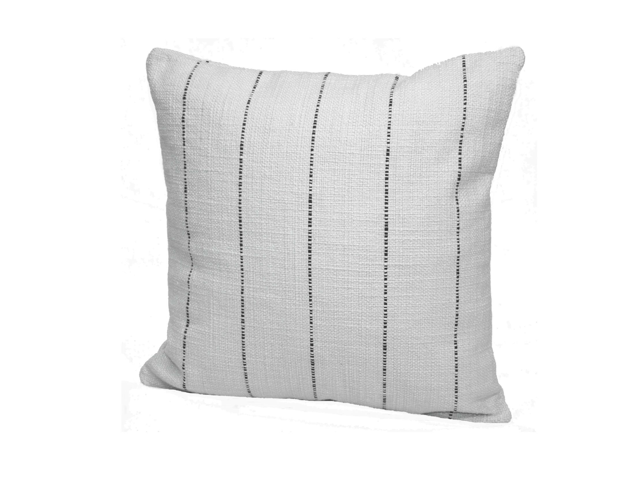Highlander Striped Throw Pillow Size: 24
