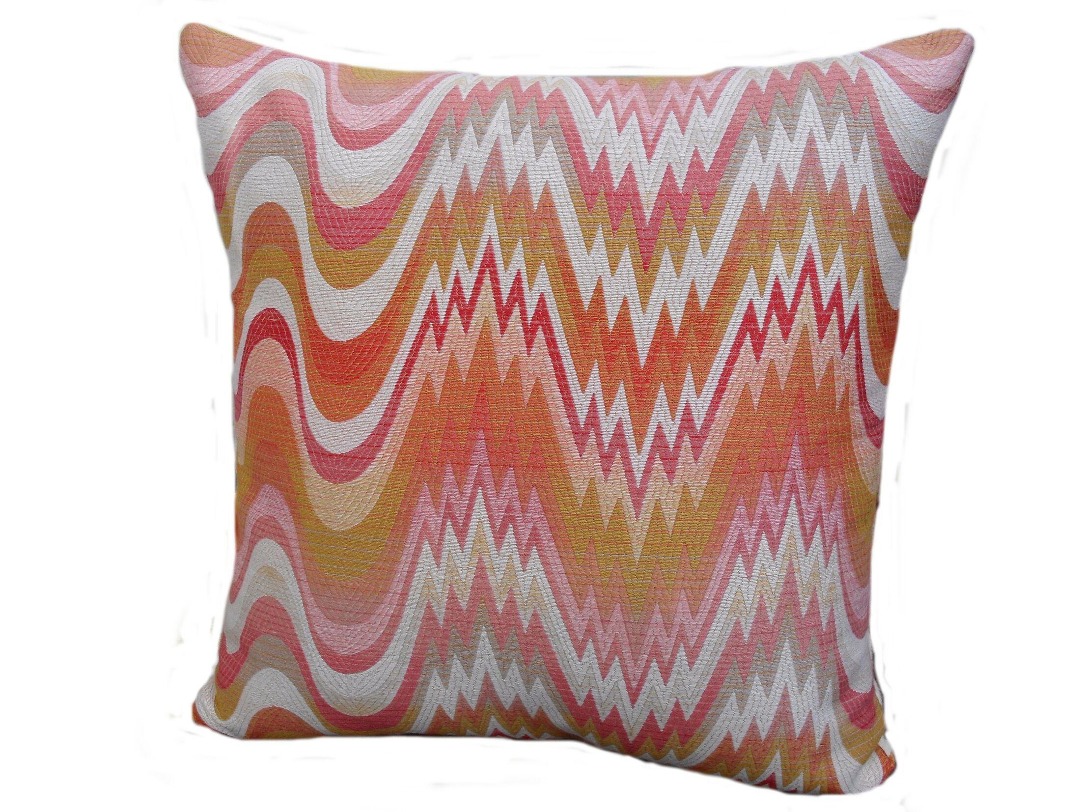 Kaleidoscope Throw Pillow Size: 24