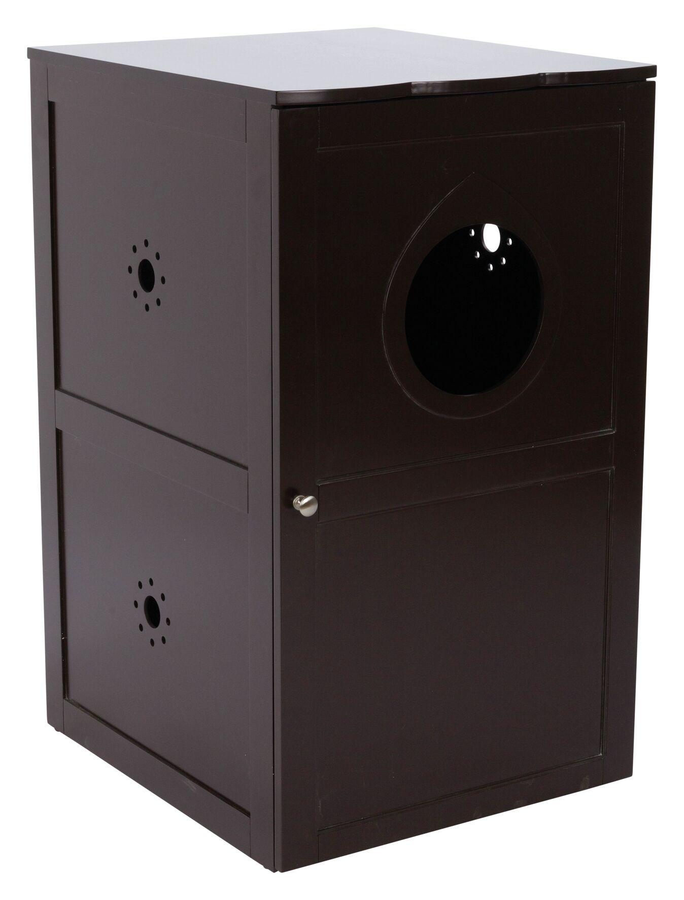 Gamma Litter Box Enclosure Color: Brown