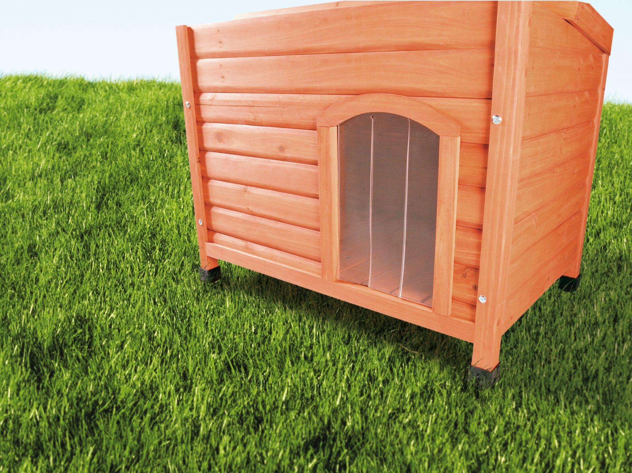 Marciano Plastic Door for Flat Roof Dog House Size: Medium (13.75