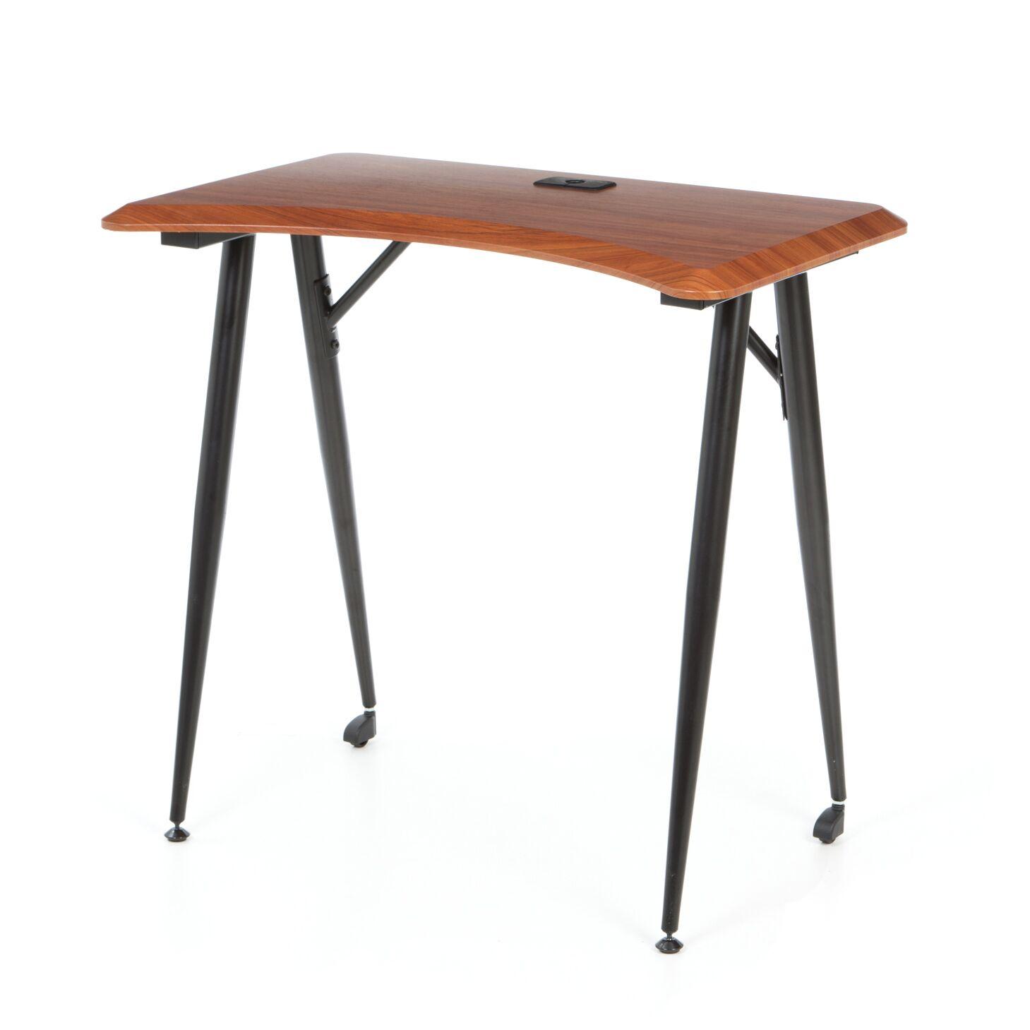 iFlex Printer Table Tabletop Finish: Cherry/Black