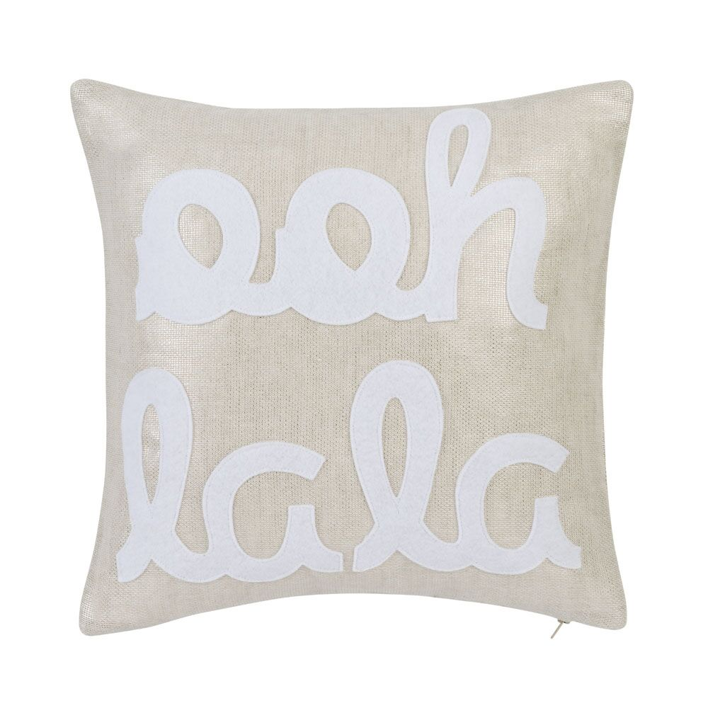 Ooh La La Throw Pillow