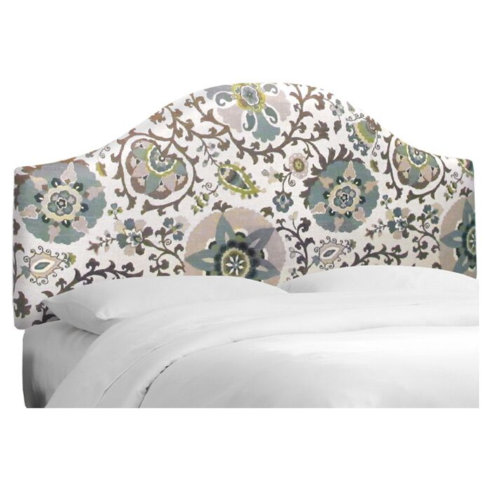 Clarissa Upholstered Headboard Size: King