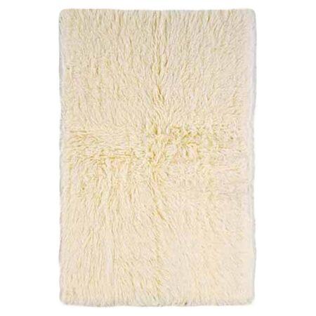 Phoebe Hand-Woven Ivory Area Rug Rug Size: Rectangle 5' x 8'