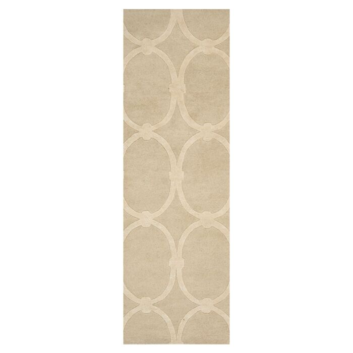 Modern Classics Taupe Rug Rug Size: Runner 2'6