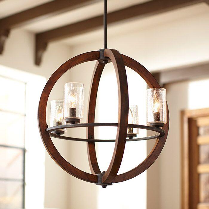 Ridgewood 4-Light Globe Chandelier