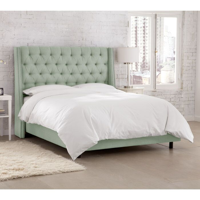 Kennedy Upholstered Panel Bed Size: California King