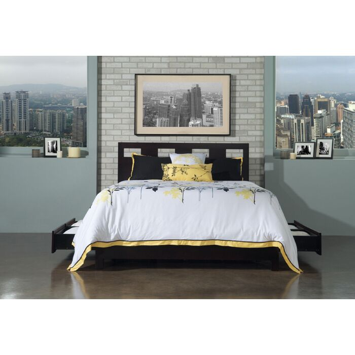 Riva Storage Platform Bed Size: Queen