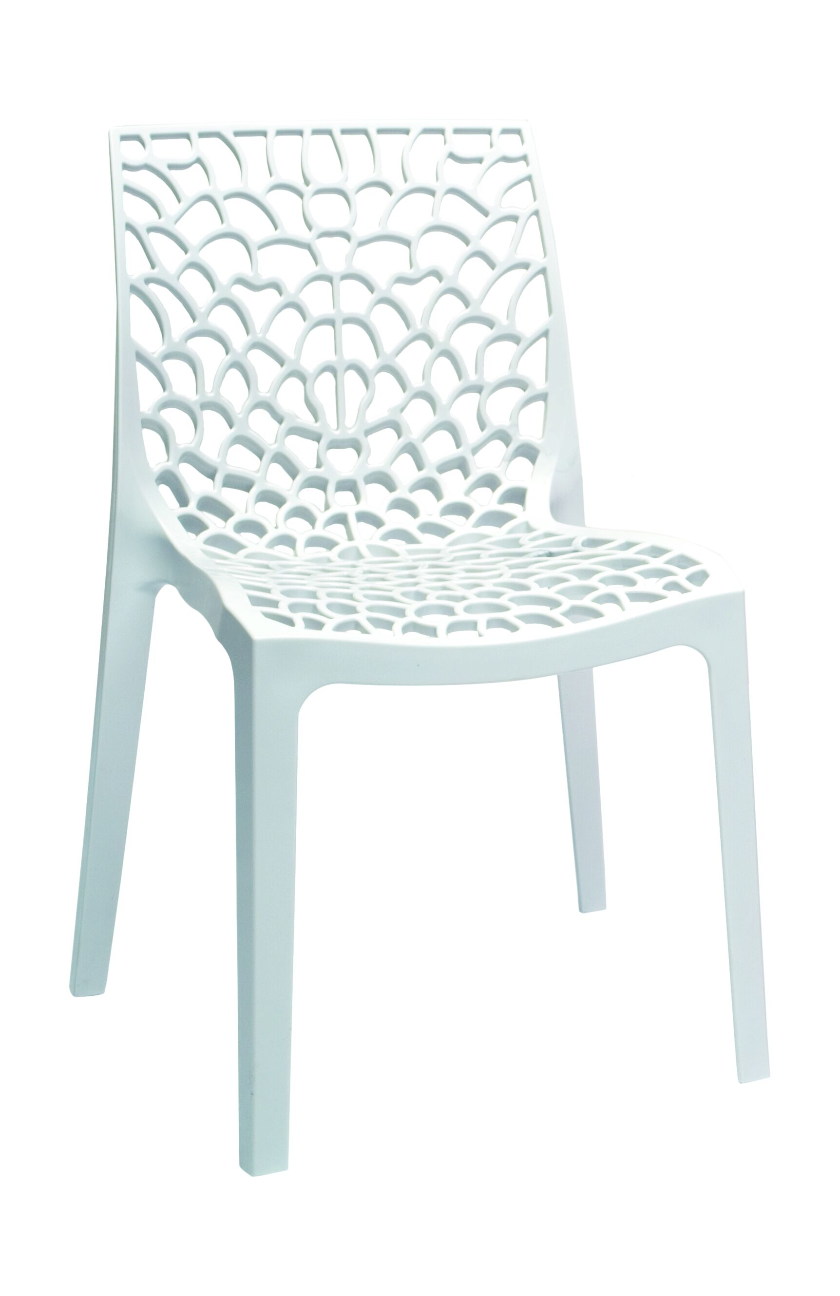 Kathi Side Chair (Set of 2) Finish: White
